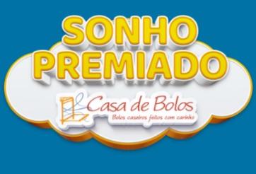 Cadastrar Promoção Sonho Premiado Casa Bolos