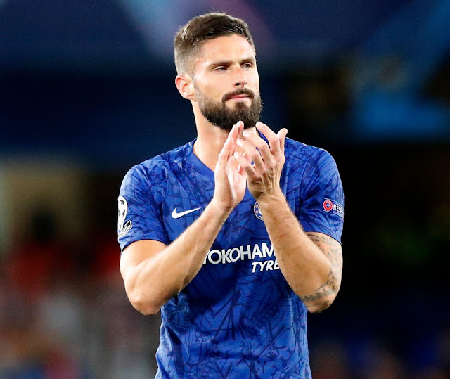 Time to say goodbyes - Olivier Giround is set to have a chat with Frank Lampard, Olivier Giroud is set to leave Chelsea, Chelsea might be lossing Giroud come January