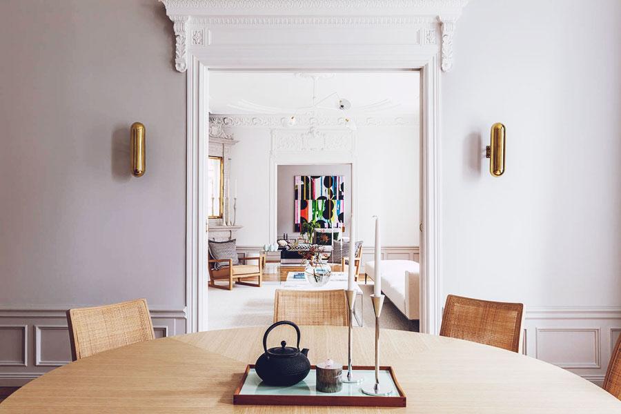 Décor: A Stunning 19th Century Swedish Apartment in Strandvägen, Stockholm
