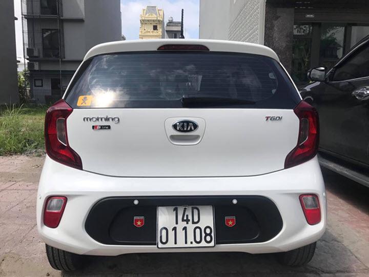 Xe hiếm Kia Morning thế hệ mới 2 chỗ ngồi tại Việt Nam