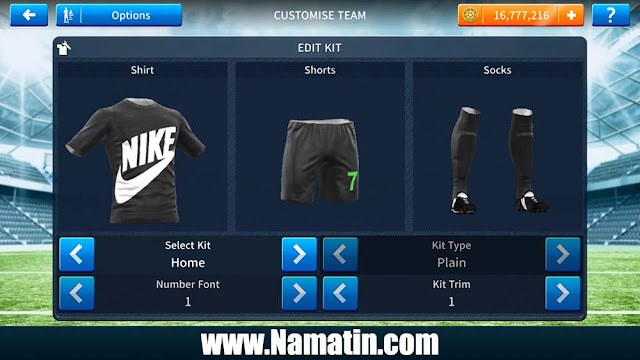 Kostum Dream League Soccer Nike Terbaru