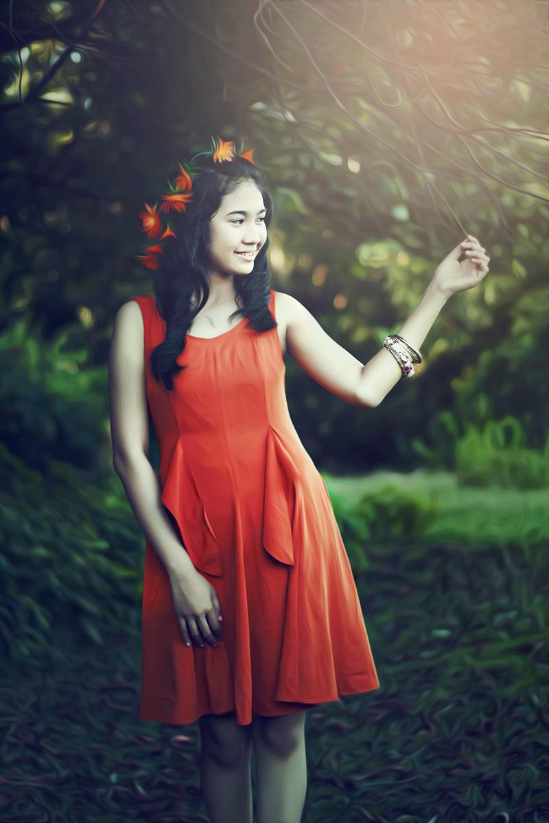 Hunting Foto Model Viona Utamicewek manis