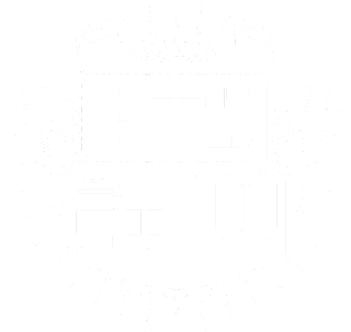 BTS(防彈少年團)(防弾少年団)旧ロゴ(白)