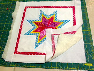 making a quilted top sandwich
