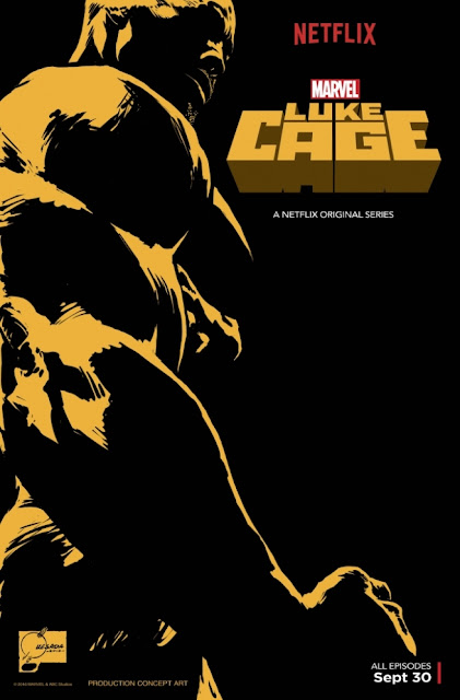 San Diego Comic-Con 2016 Exclusive Marvel's Luke Cage Teaser Television Poster by Joe Quesada