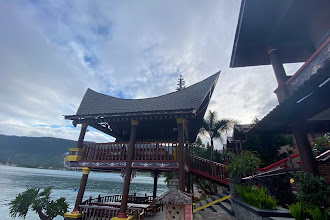 Facing Lake Toba from Samosir Villa Resort