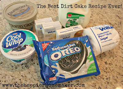 Best Dirt Cake Recipe With Gummy Worms
