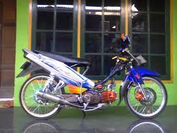Modifikasi Motor Vega R Full Air Brush