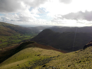 mountain landscapes of lakeland