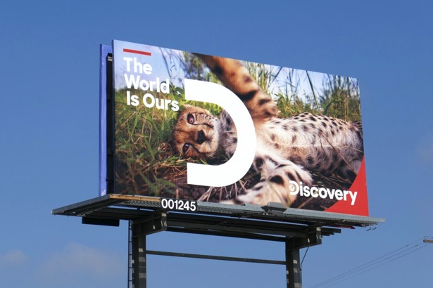 Discovery World is Ours billboard