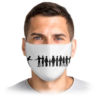 Логотип Института Рухи на защитной маске