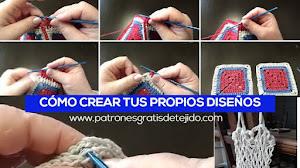 Cómo crear tus propios diseños de tejido
