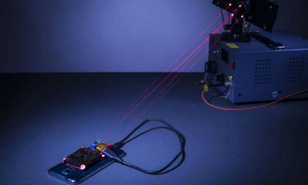 تقرير: طريقة جديدة لشحن الهواتف الذكية لاسلكيا عبر الليزر