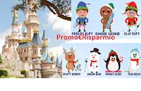Logo Teneroni ''Un tenero inverno'' vinci Disneyland Paris e Stickers omaggio