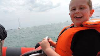 RIB exhilaration speedboat rides in solent