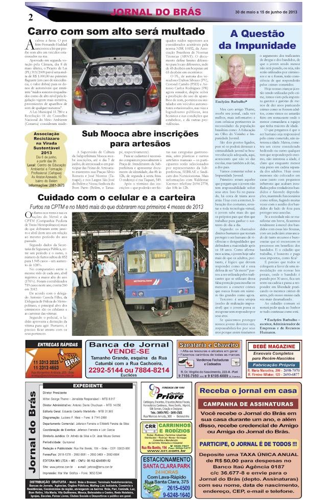 Destaques da Ed. 230 - Jornal do Brás