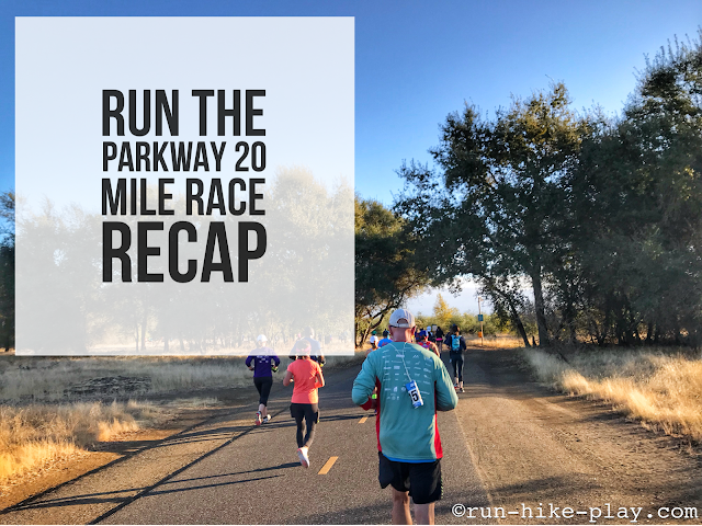 Run The Parkway 20 Miler Race Recap