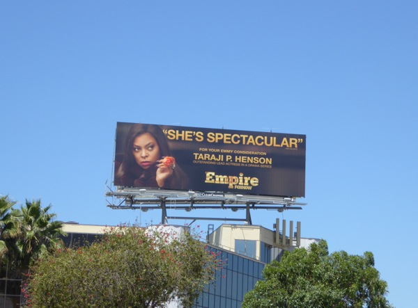 Empire 2015 Emmy nomination billboard