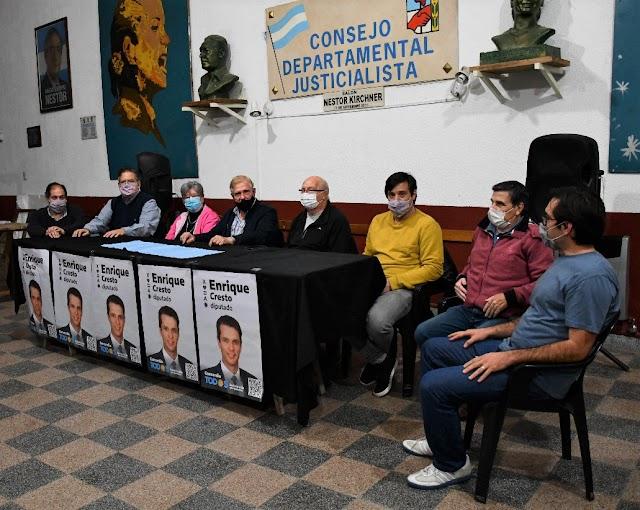UNIÓN CIUDADANA EXPRESÓ SU APOYO A ENRIQUE CRESTO Y LA LISTA DEL FRENTE DE TODOS