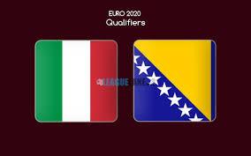 مشاهدة مباراة إيطاليا والبوسنة