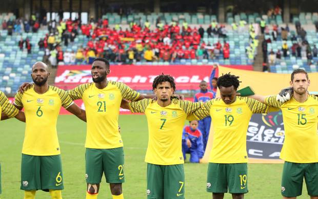 Bafana Bafana drop to second place, Nigeria go top in AFCON qualifiers