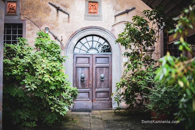 Monte Senario Toskania Dom z Kamienia blog