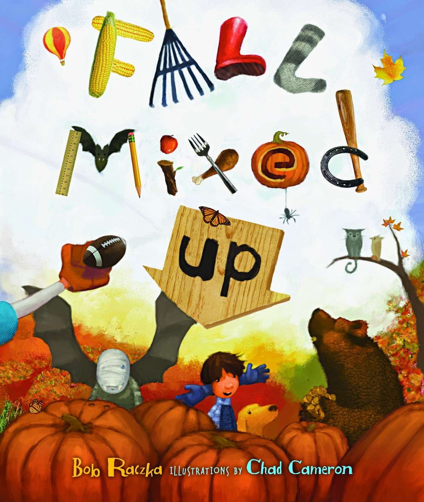 Fall Mixed Up, part of children's book review list about fall