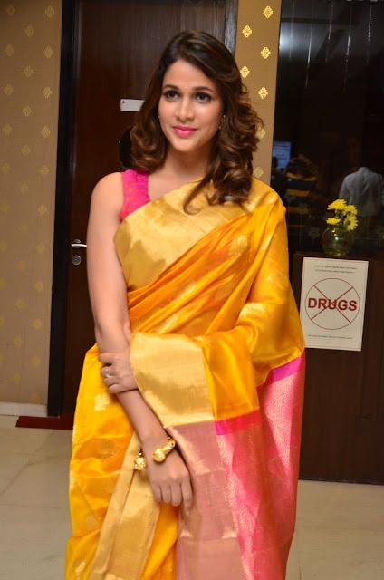 Actress Lavanya Tripati Launches Tripura Herbal Hair Oil