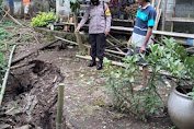 Retakan Tanah Berpotensi Longsor Muncul di Padamara