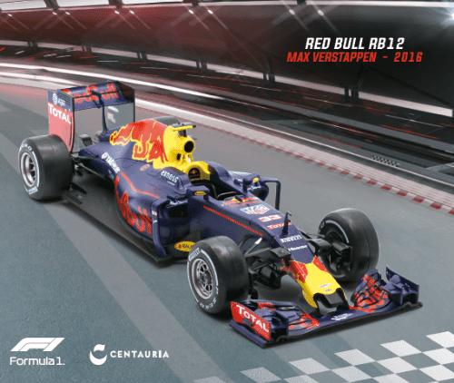 LE GRANDI FORMULA 1 RED BULL RB12 2016 MAX VERSTAPPEN