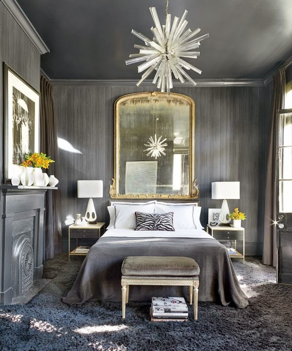 Designing Home: Using mirrors to solve decorating problems on Mirrors Next To Bed  id=82537
