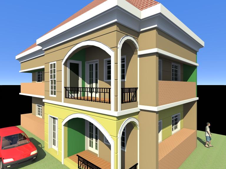 lovely 2bedroom flats 1storey building designs building designs