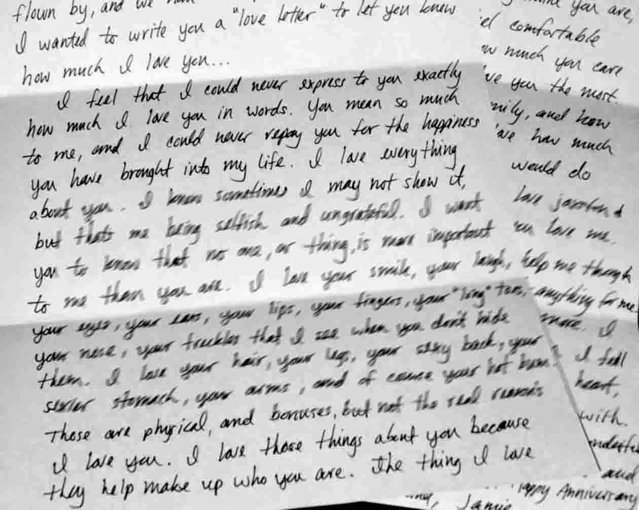 Cutest love letter ever written