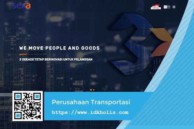 SERA Perusahaan Transportasi Terbesar dan Terdepan