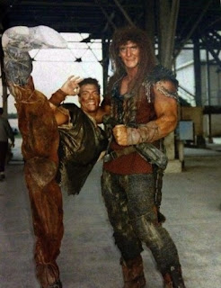 Rodaje de Cyborg - 1989