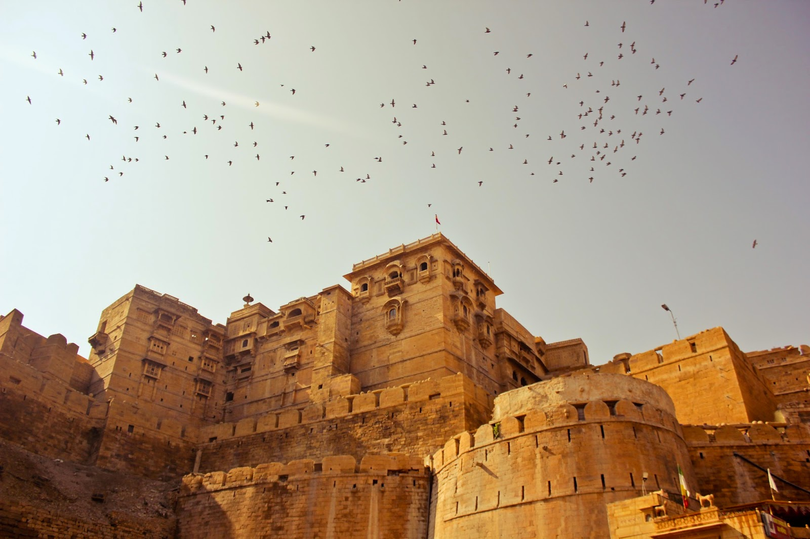 A view of jaisalmer fort