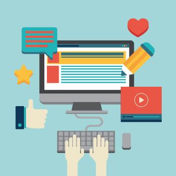 خدمة تصميم صياغة المحتوى