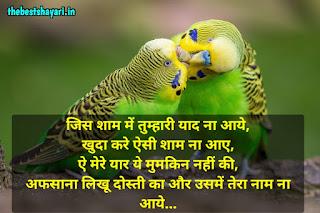 dosti shayari in Hindi photo