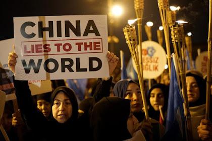 Aksi Solidaritas untuk Uighur, Ribuan Warga Turki Turun ke Jalan