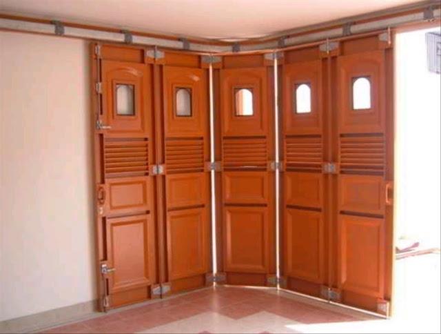 model pintu rel