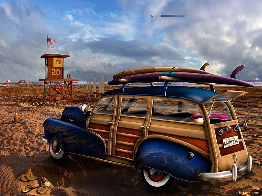 fond d'ecran gratuit voiture ancienne