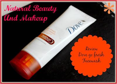Dove go fresh facewash