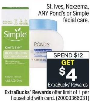Pond's Facial Wipes CVS Deals