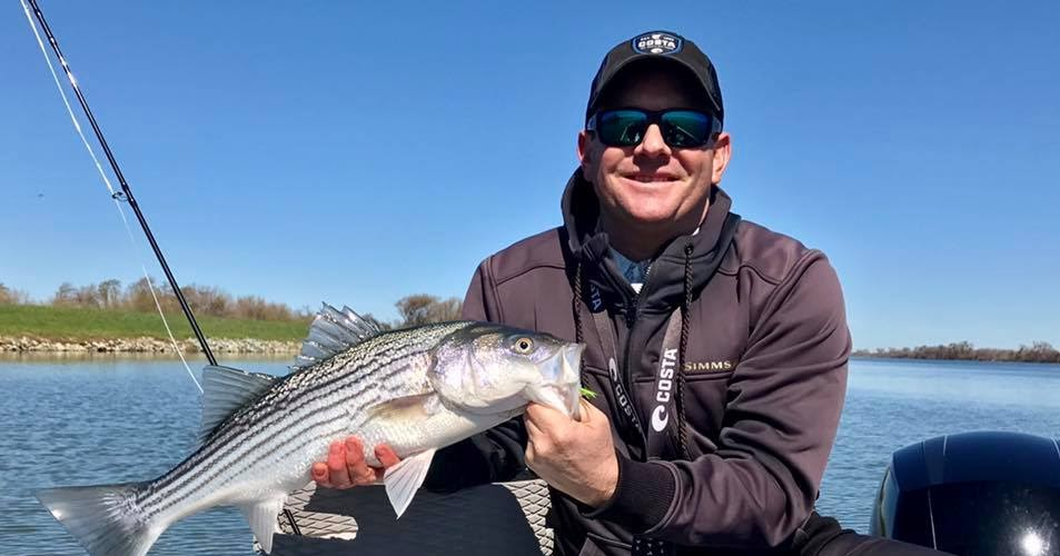 Fly fishing specialties for California delta fishing report