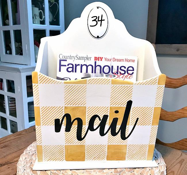 Buffalo Check Mail Box Organizer