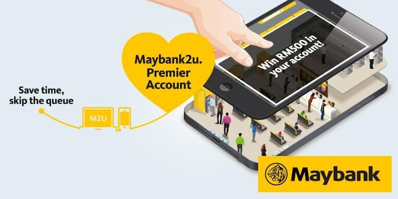 Cara buka akaun Maybank2u.Premier Tanpa Perlu Ke Bank