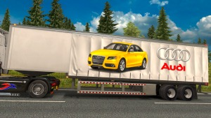 Audi curtain trailer mod