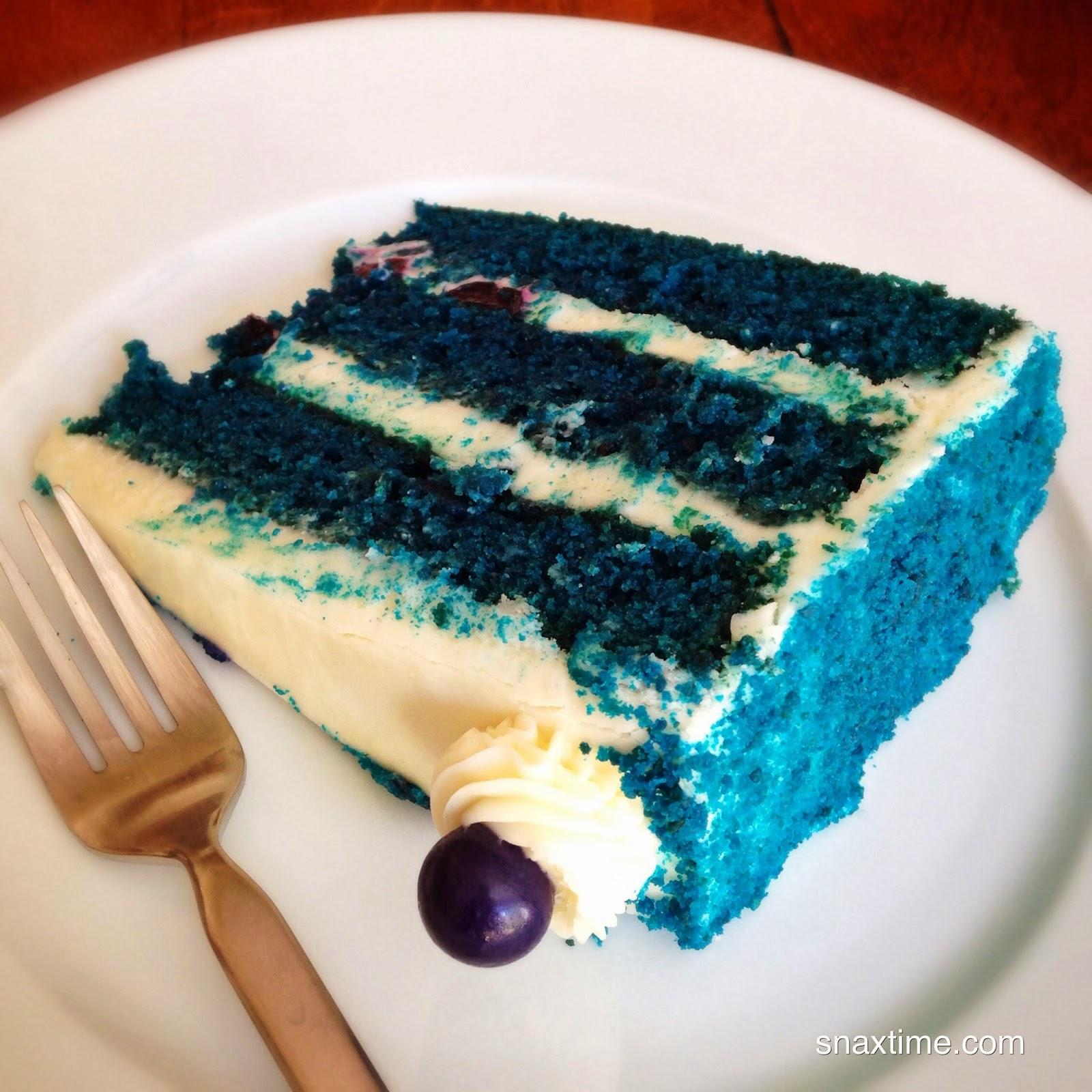 Blue Velvet Cake Los Angeles