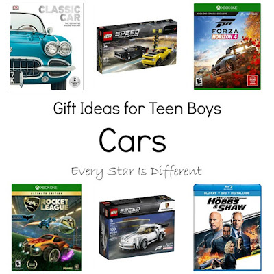 Cars-Gift Ideas for Teen Boys