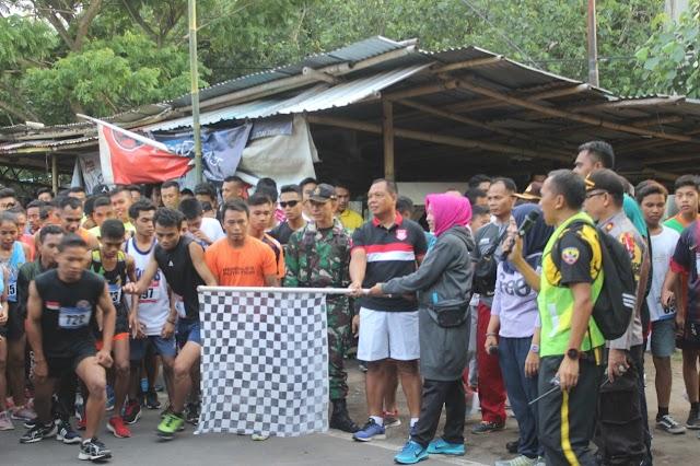 Satgas RR Gelar Lomba Lari Marathon Menuju NTB Bangkit